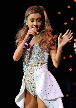 "Ariana Grande took the Radio City Music Hall by storm as ""AGT"" revealed some of its controversial results yet! (Photo property of Celebmafia)"