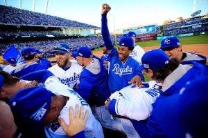 Kansas City Royals celebrate