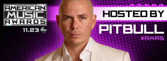 Pitbull AMAs 2014