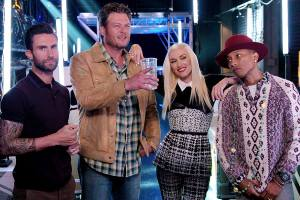 The Voice Season Seven coaches