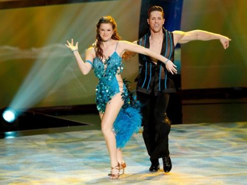"Ryan returned to ""So You Think You Can Dance"" as an All-Star and teamed up with Valerie for a show-stopping Samba! (Photo courtesy of Ryan Di Lello)"