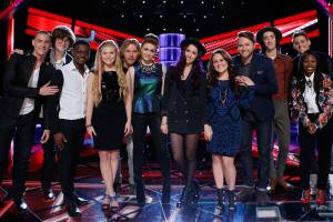 "The Season Seven Final Three are revealed on ""The Voice"""