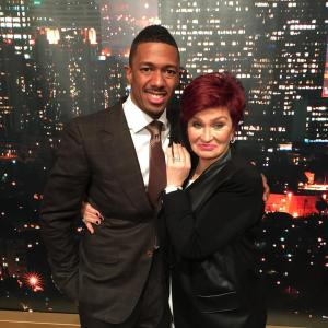 Nick Cannon Sharon Osbourne AGT reunion