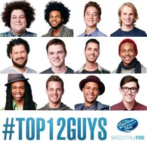 American Idol XIV Top 12 Guys