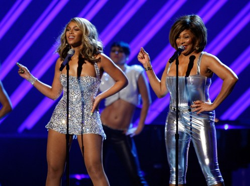 Beyonce and Tina Turner Grammys 2008