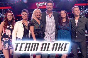 Team Blake The Voice Season Eight