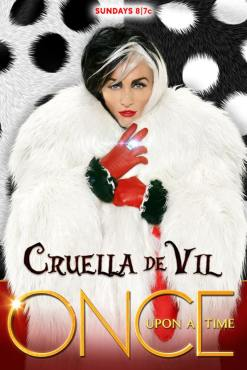 Is Cruella de Vil (Victoria Smurfit)---the nastiest member of the Queens of Darkness? (Photo property of ABC)