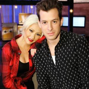 Christina Aguilera reunites with Mark Ronson