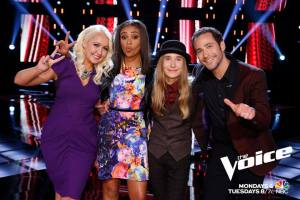 "The Final Four face off on ""The Voice"""