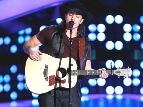 Cody Wickline Blind Audition