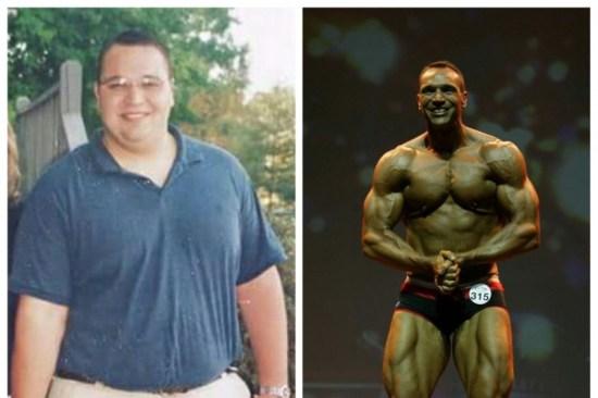 Brian Cook WBFF transformation