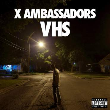 "The X Ambassadors' debut studio album, ""VHS"" is ""Jake's Take's"" Album of the Week! (Album cover property of KIDinaKORNER & Interscope Records)"