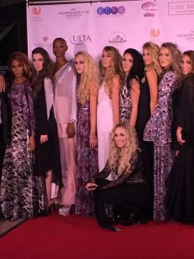 Lucia's Sarto's Nataliya Meyer and her models