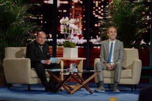 James Lipton and Taylor Williamson America's Got Talent