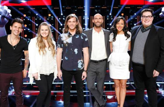 Team Adam The Voice Season Nine