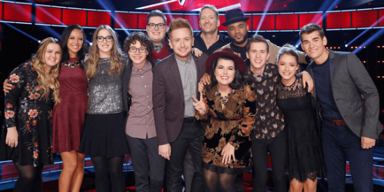 The Voice Season Nine Top 12