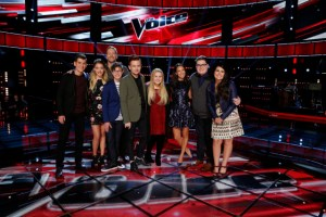 The Voice's Top Nine prepare to face the Guillotine
