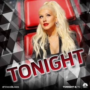 "Christina sings as ""The Voice: Season 10"" Blind Auditions hits the home stretch"
