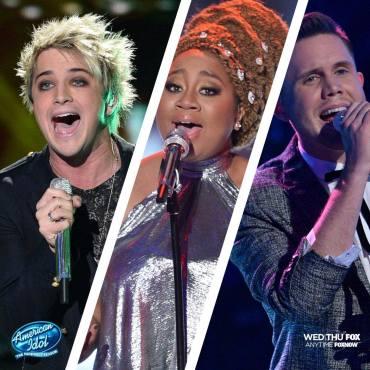 "Who will be the final ""American Idol""? Dalton? La'Porsha? Trent? (Photo property of FOX, FremantleMedia North America & 19 Entertainment)"