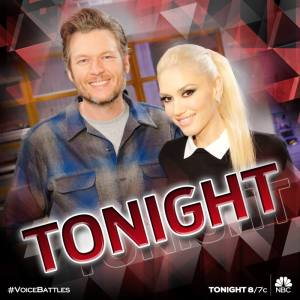 Blake and Gwen on The Voice