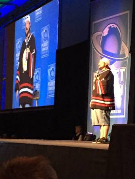 "Actor-director Kevin Smith brought his one-man show: ""An Evening with Kevin Smith"" to Planet Comicon (Photo property of Jacob Elyachar)"