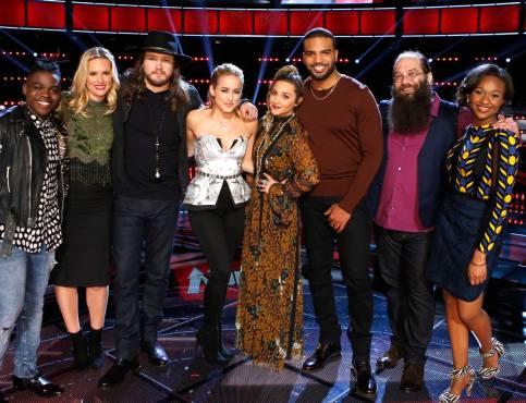 The Voice Season 10 Top Eight