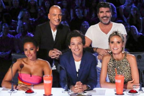 Louis Tomlinson on America's Got Talent