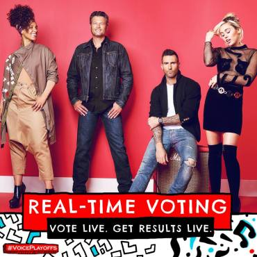 "For the first time in show history, ""The Voice"" offered fans-real-time voting! (Photo & graphic property of NBC & MGM TV)"