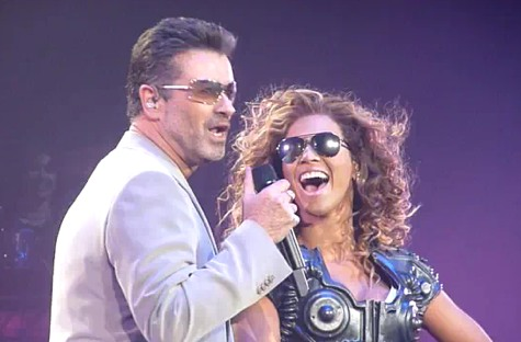 Beyonce and George michael