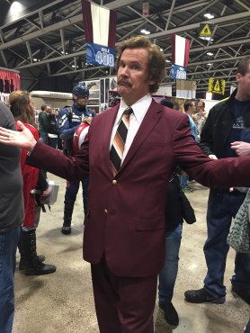 Ron Burgundy Planet Comicon
