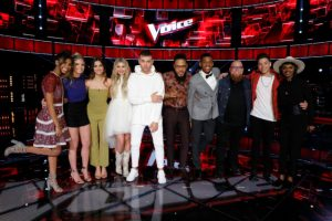 "Maren & Charlie visit ""The Voice"" as the Season 12 Instant Save continues"