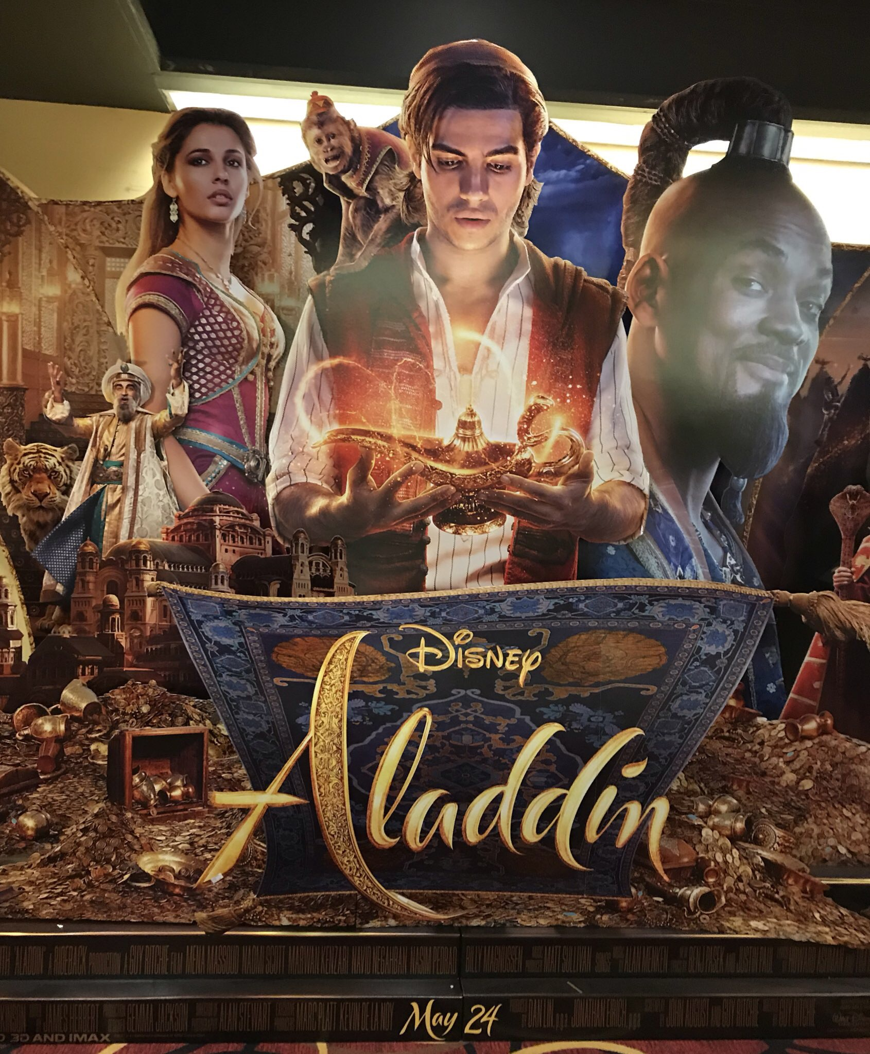 Aladdin 2019 Official Movie Poster
