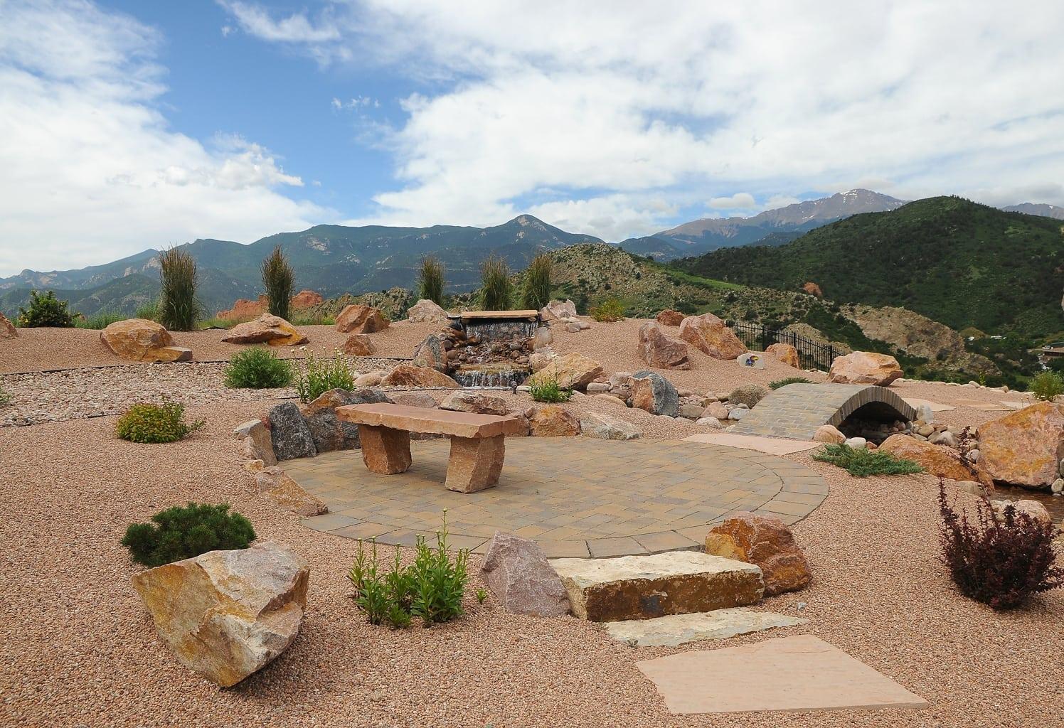 Xeriscape Colorado Springs | Colorado Xeriscaping ... on Xeriscape Backyard Designs id=39758
