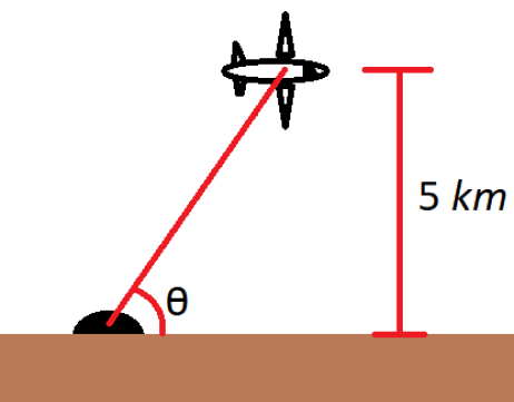 related rates triangle problem plane