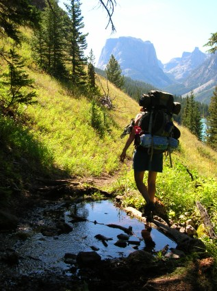 trail etiquette, wind river