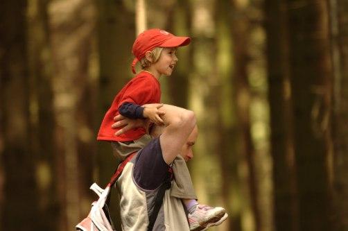 kids get lost hiking
