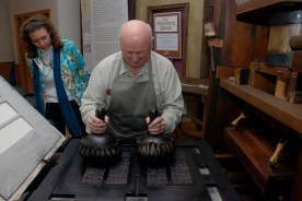 Inking the Gutenberg Press