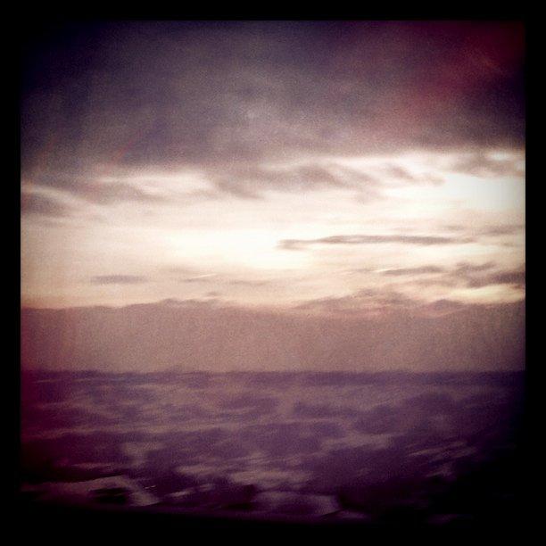 The barren (Salt Lake) valley...