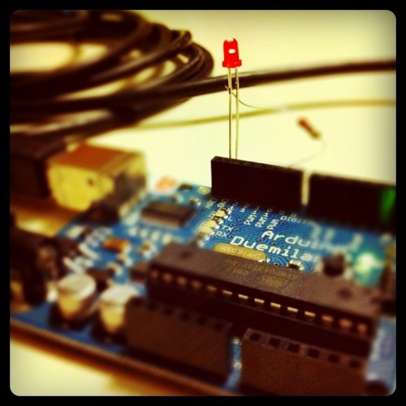 Totally just programmed an Arduino micro-controller to dim an LED. Me, nerdy?