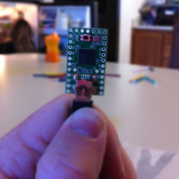 Teensyduino is teensy!