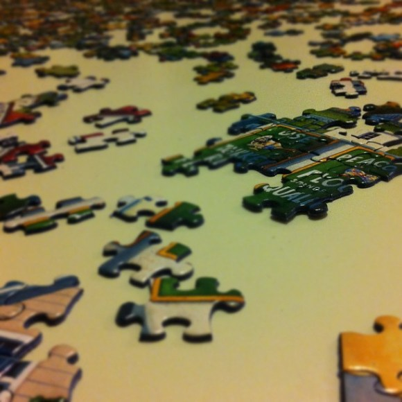 What Dowdle puzzle are we doing? Should be easy for Utah friends...