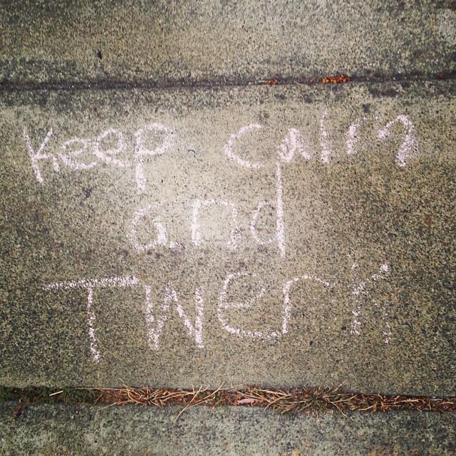 Sage street advice.