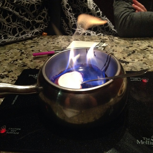 Checked in at The Melting Pot