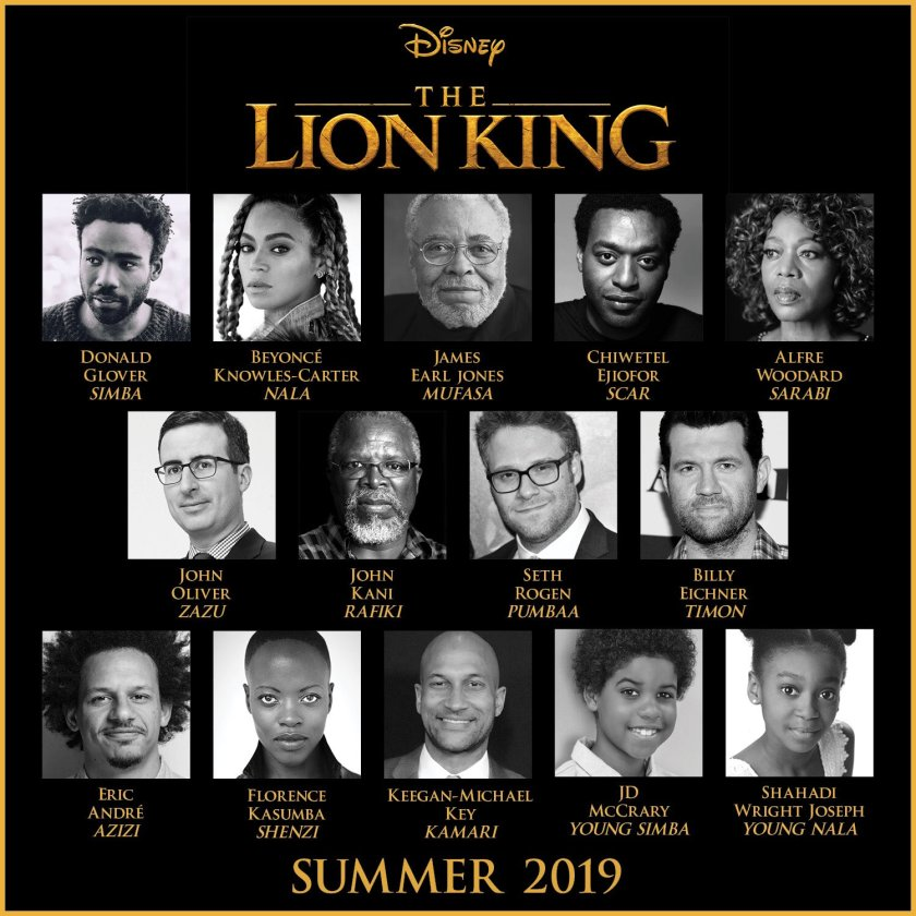 RT @DisneyStudios: #TheLionKing. 2019. ???????? https://t.co/rSDPkE6nWk