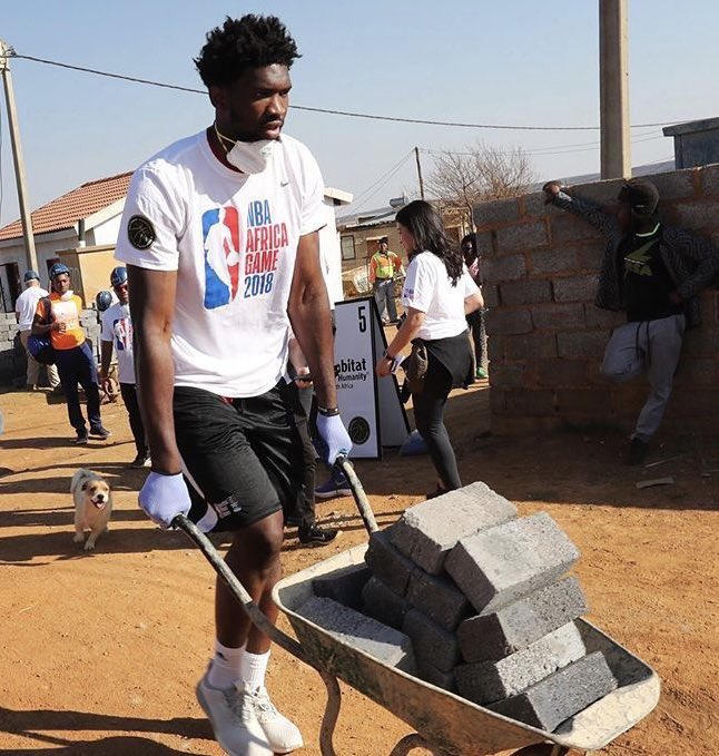RT @JoelEmbiid: Laying out these…