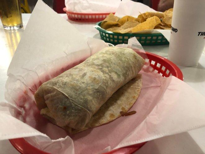 Actual California Burritos are the…