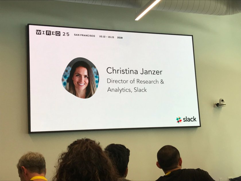 #wired25 (@ Slack SF500 in…