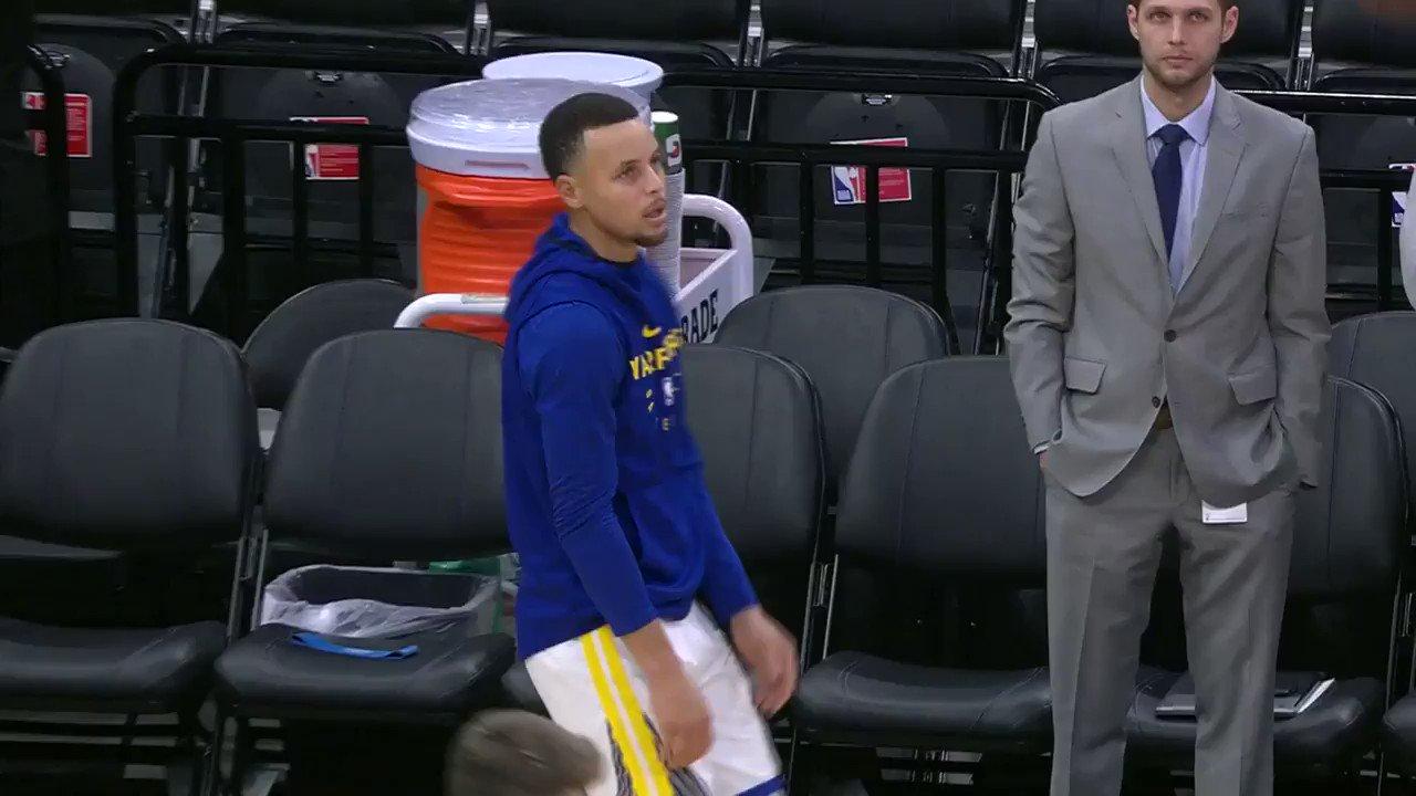 RT @NBA: ? Pregame Steph.…