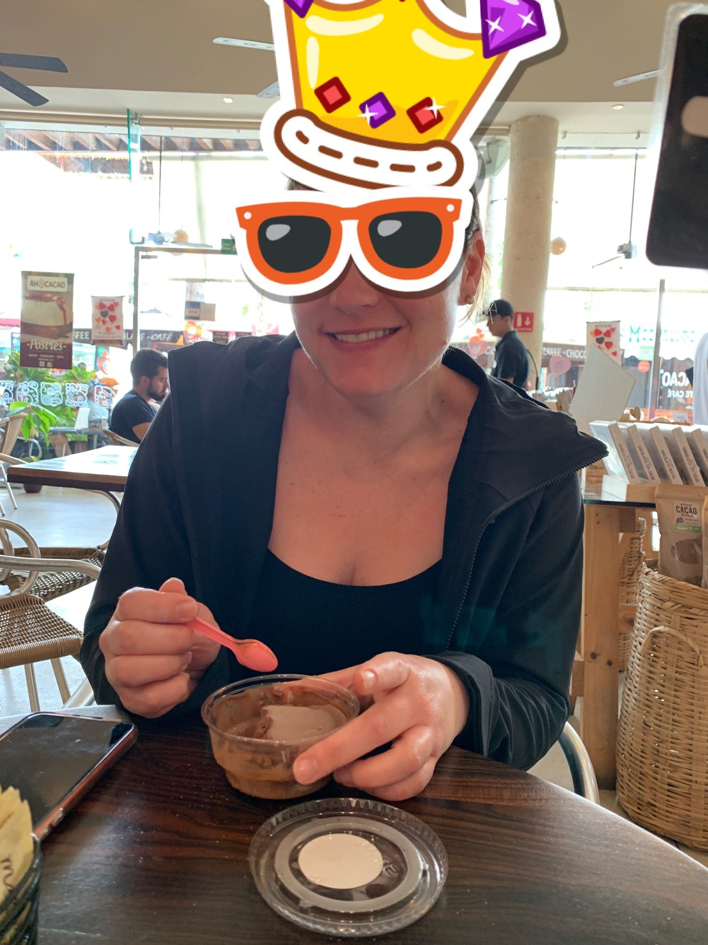 Checked in at Ah Cacao Chocolate Café