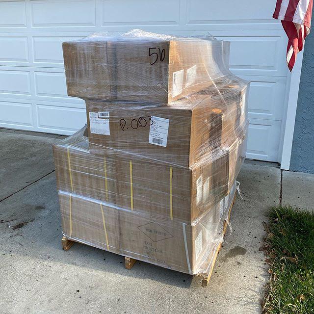 A few baseballs got delivered...